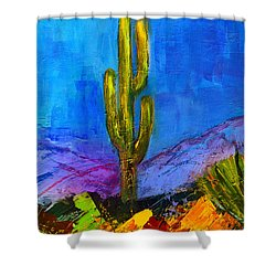 Desert Giant Shower Curtain