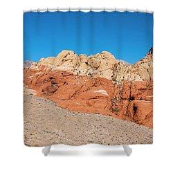 Desert Hills Shower Curtain by Rae Tucker