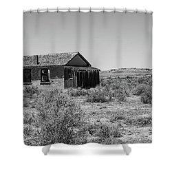 Desert Home Past Shower Curtain