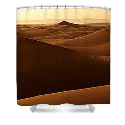 Desert Impression Shower Curtain