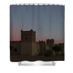 Desert Kasbah Morocco 2 Shower Curtain