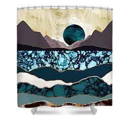 Desert Lake Shower Curtain