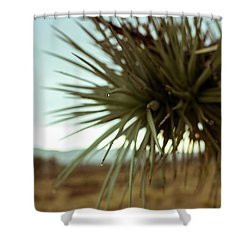 Desert Leaves Shower Curtain