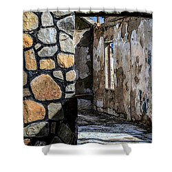 Desert Lodge View 1 Shower Curtain