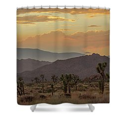 Desert Magic Shower Curtain