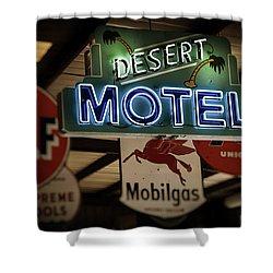 Desert Motel Shower Curtain