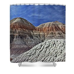 Desert Pastels Shower Curtain