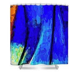 Shower Curtain featuring the photograph Desert Sky 2 by Paul Wear