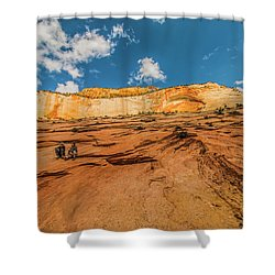 Desert Solitaire With A Friend Shower Curtain