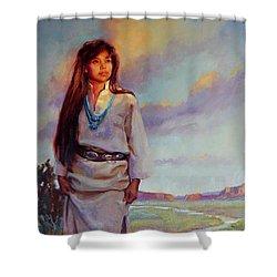 Desert Song Shower Curtain