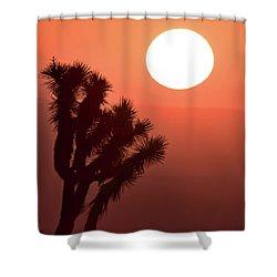 Desert Sunrise Shower Curtain