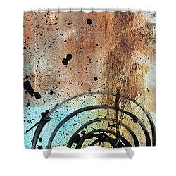 Desert Surroundings 4 By Madart Shower Curtain by Megan Duncanson