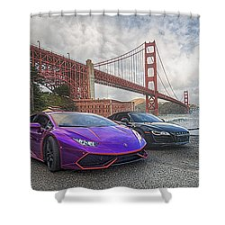 Desert To Bay Rally 2016 Shower Curtain