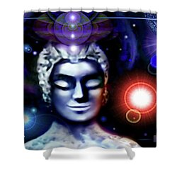 Buddha - Be At Peace Shower Curtain