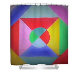 Design Number One Shower Curtain