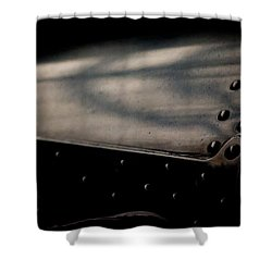 Design Shower Curtain by Paul Job