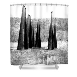 Designs Of The Future Shower Curtain