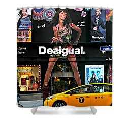 Desigual Shower Curtain by Diana Angstadt