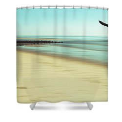 Desire Shower Curtain by Hannes Cmarits