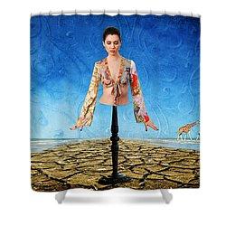 Desire No. 11 Shower Curtain