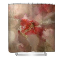 Shower Curtain featuring the painting Desire by Tamara Bettencourt