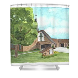De Soto Baptist Church Shower Curtain