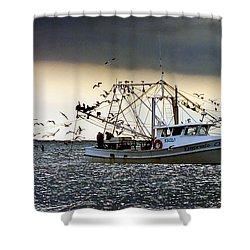 Desperado  Shower Curtain by Christy Ricafrente