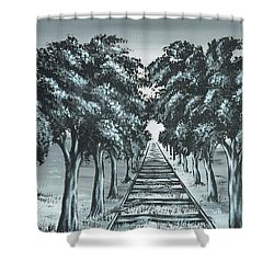 Destination 2 Shower Curtain