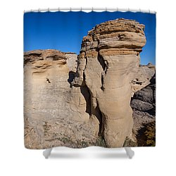 Shower Curtain featuring the photograph Destination Hoodoos by Fran Riley