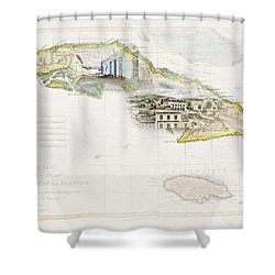 Destination Trinidad Shower Curtain
