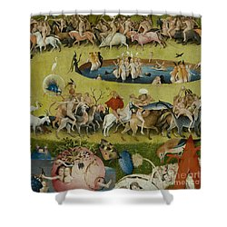 Detail From The Central Panel Of The Garden Of Earthly Delights Shower Curtain