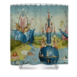 Detail From The Garden Of Earthly Delights  Central Panel Shower Curtain
