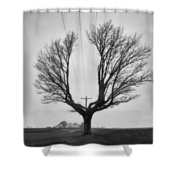 Determination  Shower Curtain by Off The Beaten Path Photography - Andrew Alexander