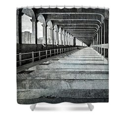 Detroit-superior Bridge Lower Level Shower Curtain
