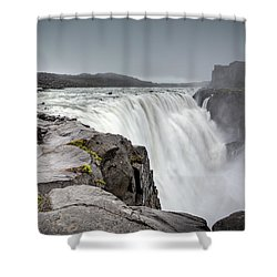 Dettifoss Shower Curtain