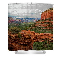 Devil's Bridge Shower Curtain