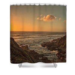 Devils Churn Shower Curtain by Billie-Jo Miller