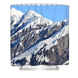 Devils Food With Frosting - Wrangall St. Elias Shower Curtain