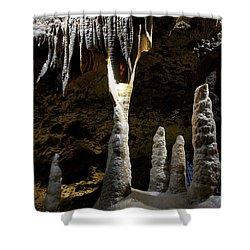 Devils's Cave 4 Shower Curtain by Heiko Koehrer-Wagner