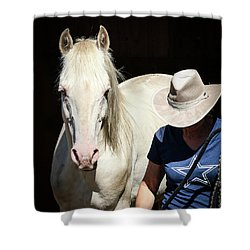 Devine Spirit Of Hope Shower Curtain
