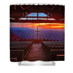 Devine Sunrise Shower Curtain