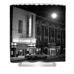 Devon Theatre, 1979 Shower Curtain