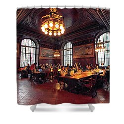 Shower Curtain featuring the photograph Dewitt Wallace Periodical Room by Jessica Jenney