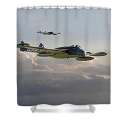 Shower Curtain featuring the photograph  Dh112 - Venom by Pat Speirs