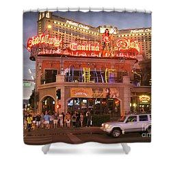 Diablo's Cantina In Las Vegas Shower Curtain by RicardMN Photography