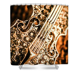 Diamond Ensemble Shower Curtain