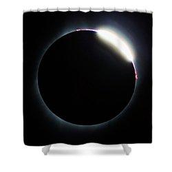 Diamond Ring - Eclipse August 21 2017 Shower Curtain