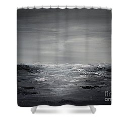 Diamond Sea Shower Curtain