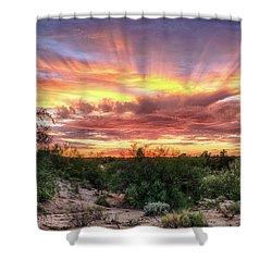 Diamond Sky Shower Curtain