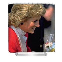 Diana Princess Of Wales Shower Curtain